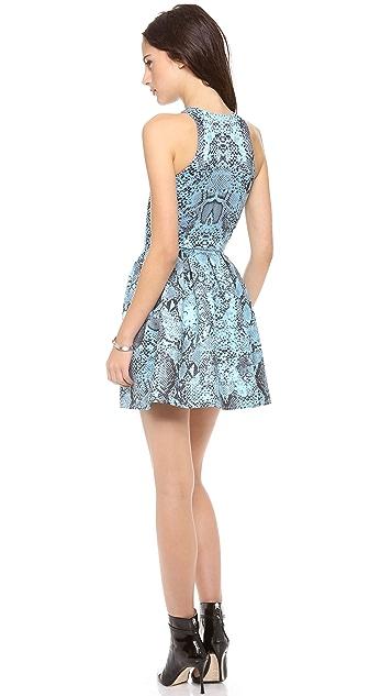 Nicholas Python Zip Front Dress