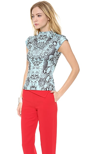 Nicholas Python High Neck Top