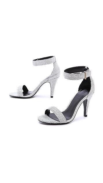 Nicholas Fizz Ankle Strap Sandals