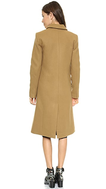 Nicholas Wool Double Breasted Coat