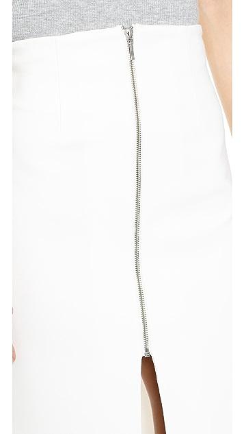 Nicholas Ponte Zip Front Skirt