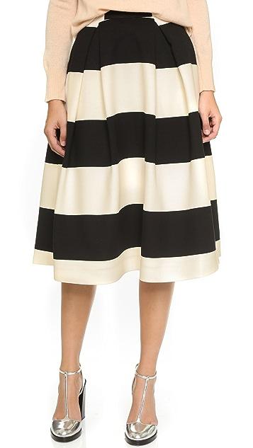 Nicholas N / Nicholas Orchard Stripe Ball Skirt
