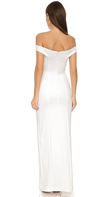 Nicholas N Nicholas Shoulder Band Gown