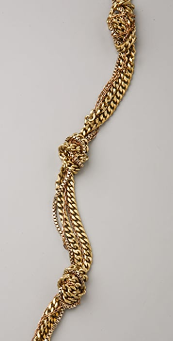 Nicole Romano Knotted Necklace