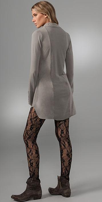 Nightcap x Carisa Rene Tuxedo Tunic Dress