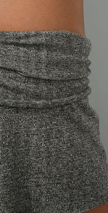 Nightcap x Carisa Rene Linen Fold Over Shorts