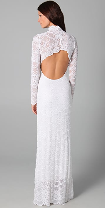 Nightcap x Carisa Rene Classic Victorian Lace Gown