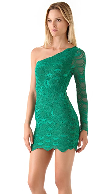 Nightcap x Carisa Rene One Sleeve Dress