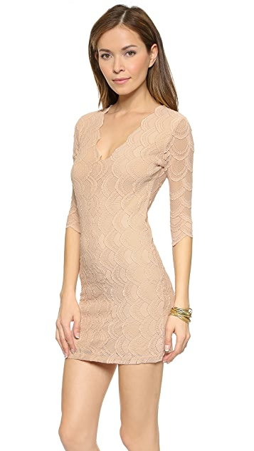 Nightcap x Carisa Rene Deep Victorian Lace Dress
