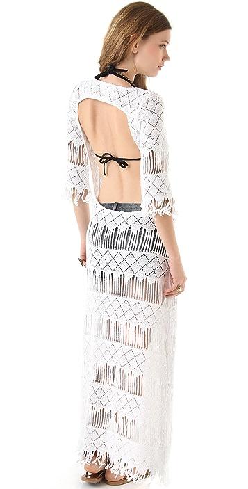 Nightcap x Carisa Rene Long Fringe Dress