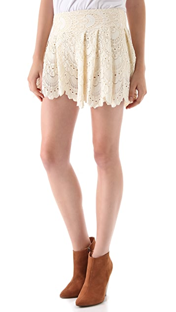 Nightcap x Carisa Rene Spanish Fan Lace Shorts