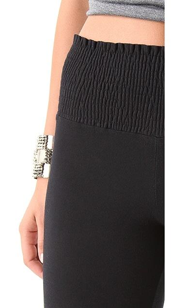 Nightcap x Carisa Rene Smocked Flare Pants