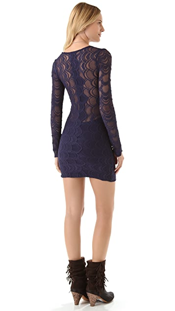 Nightcap x Carisa Rene Victorian Lace Dress