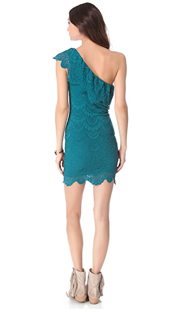 Nightcap x Carisa Rene One Shoulder Dress