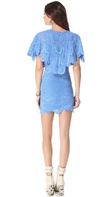 Nightcap x Carisa Rene Spanish Lace Poncho Dress