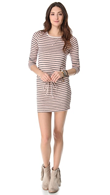 Nightcap x Carisa Rene Striped Terry Dress