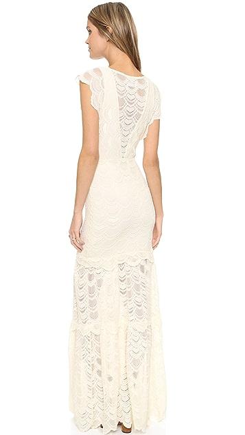 Nightcap x Carisa Rene Caletto Maxi Dress