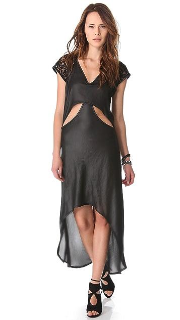 Nightcap x Carisa Rene Cutaway Cap Sleeve Gown