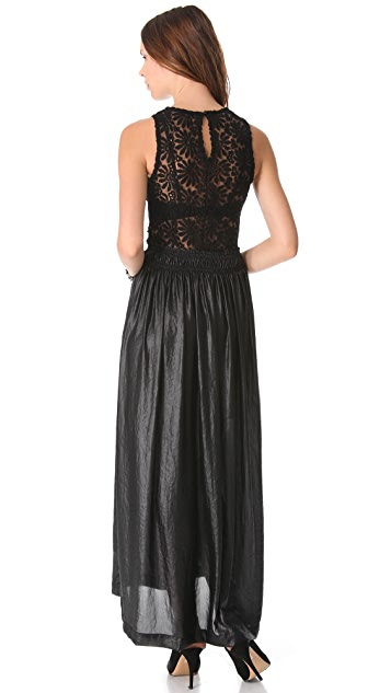 Nightcap x Carisa Rene Sunflower Lace Gown