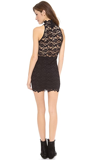 Nightcap x Carisa Rene Dixie Lace Halter Dress