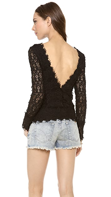Nightcap x Carisa Rene Veronica Lace Top