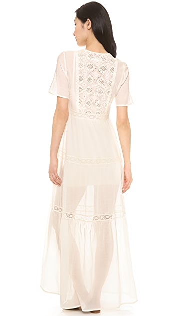 Nightcap x Carisa Rene Embroidered Prairie Gown