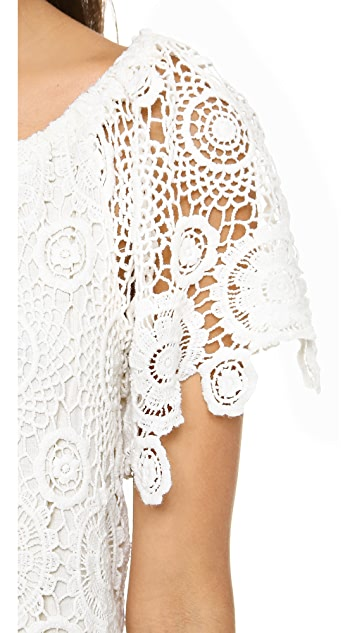 Nightcap x Carisa Rene Carmen Crochet Dress