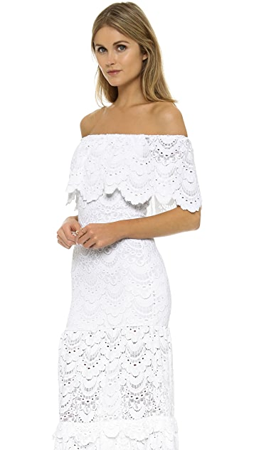 Nightcap x Carisa Rene Positano Maxi Dress