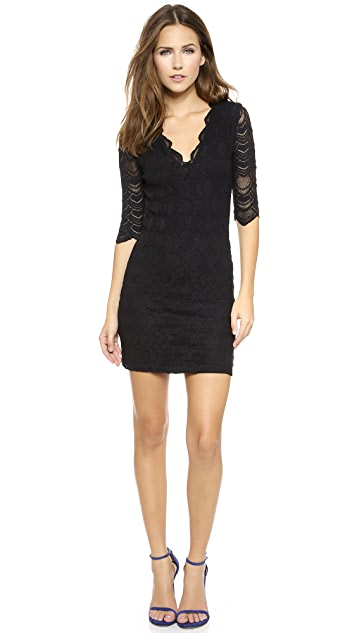 Nightcap x Carisa Rene Deep V Victorian Dress