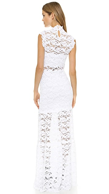 Nightcap x Carisa Rene Dixie Lace Cutout Maxi Dress