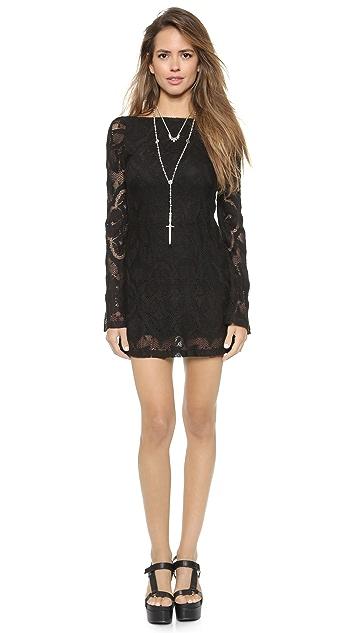 Nightcap x Carisa Rene Crochet Priscilla Dress