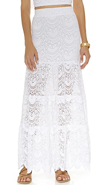 Nightcap x Carisa Rene Spanish High Waist Skirt
