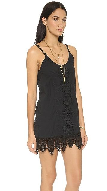 Nightcap x Carisa Rene Embroidered Tank Dress