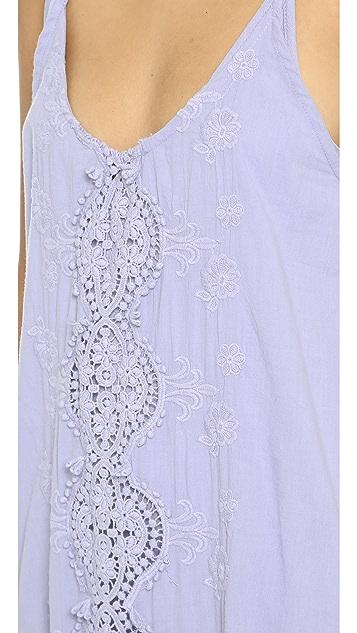 Nightcap x Carisa Rene Embroidered Maxi Dress