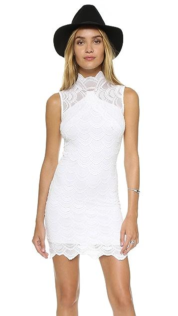 Nightcap x Carisa Rene Victorian Lace Sleeveless Dress