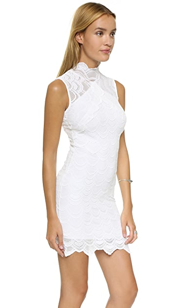 Nightcap x Carisa Rene Victorian Lace Sleeveless Dress