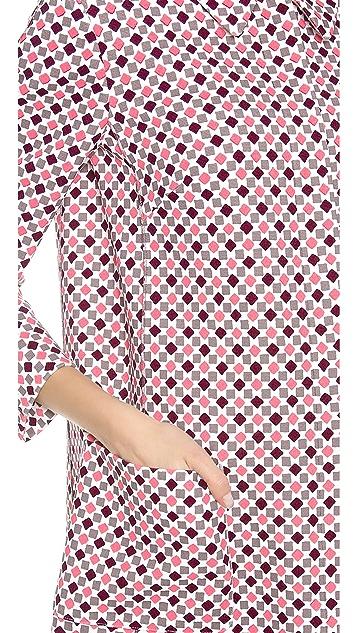 Nina Ricci Mosaic Print Coat