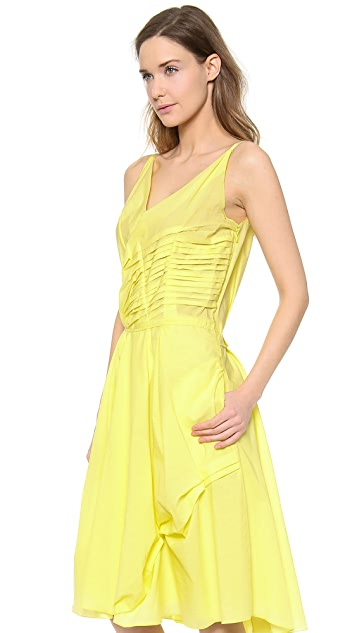 Nina Ricci Pleated Tank Dress