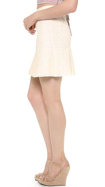 Nina Ricci Textured Skirt