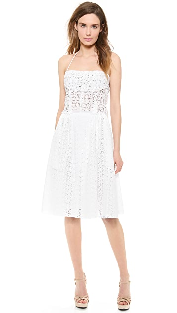 Nina Ricci Sleeveless Halter Dress