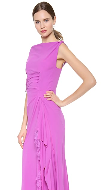 Nina Ricci One Shoulder Gown