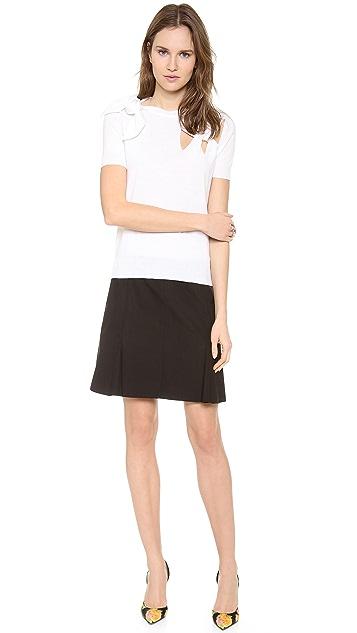 Nina Ricci Short Sleeve Sweater