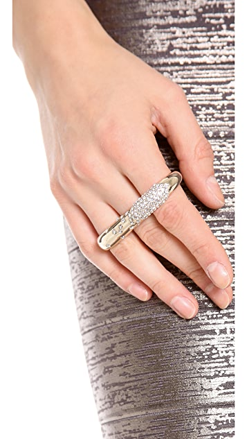 Nina Ricci Triple Finger Ring