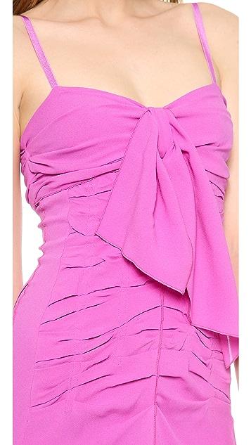 Nina Ricci Ruched Silk Gown