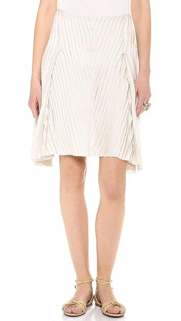 Nina Ricci Pleated Skirt