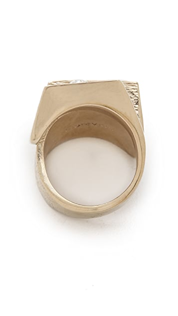 Nina Ricci Double Stone Ring