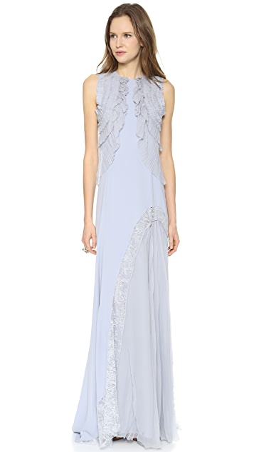 Nina Ricci Sleeveless Gown