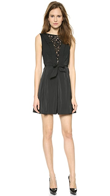 Nina Ricci Taffeta Bow Dress