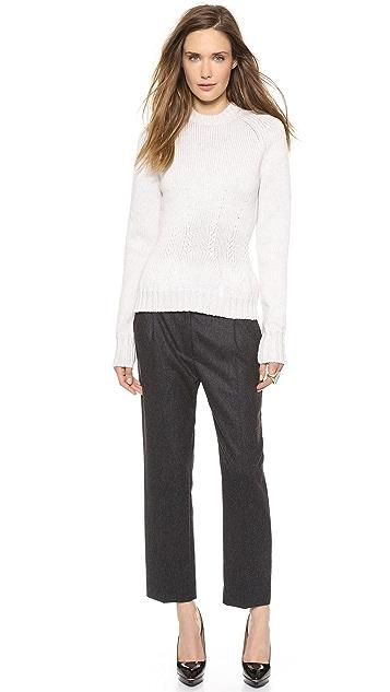 Nina Ricci Slim Wool Trousers