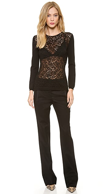 Nina Ricci Slim Boot Cut Pants